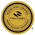 Tested and Certified by WQA to NSF Standard 42