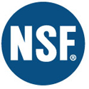 Tested and certified by NSF International