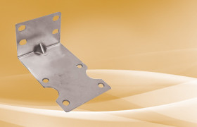 Single Housing Metal L Shaped Mounting Brackets