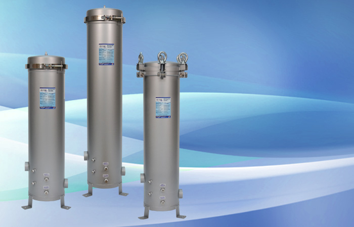 Round Multi Cart Housing on trojan uv water filter systems