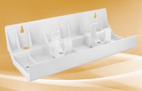 Three Housing Plastic U Shaped Brackets for Slim Line, E, and Elf Series