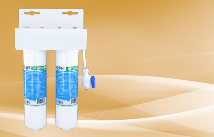 K-NPQ2 2-Stage Quick Change Water Cooler Filter Kit