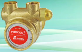 NSF Procon Pump Brass w/ 1143 Bronze Coupling 100 GPH 3/8