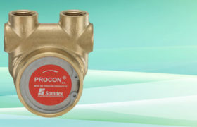 NSF Procon Pump Brass NSF w/ Single Flat Drive 240 GPH 1/2