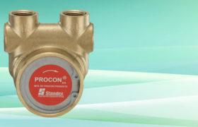 NSF Procon Pump Brass NSF w/ Single Flat Drive 240 GPH 1/2