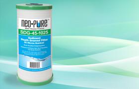 SDG-45-1025 Grooved Polypropylene Sediment Filter