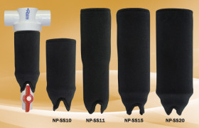 Neoprene Sun Shields for Rusco Spin Down and Sediment Trappers