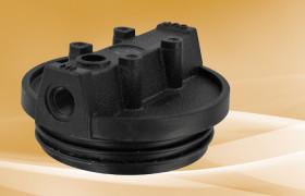 Pentek Black Mounting Bracket Cap 3/4 FPT no PR