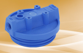 Pentek Blue Cap for Slim Line Housings 1/4
