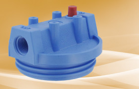 Pentek Blue Mounting Bracket Cap 3/4 FPT Blue Sump w/PR