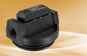 Pentek Black Valve-in-Head Cap 3/4 FPT for Blue Sump w/PR