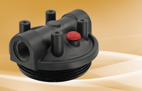 Pentek 3G Black Mounting Bracket Cap w/PR